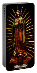 Virgin Of Guadalupe Portable Battery Charger