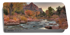 Virgin River And The Watchman Portable Battery Charger