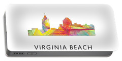Virginia Beach  Virginia Skyline Portable Battery Charger