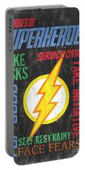 Virtues Of A Superhero 2 Portable Battery Charger