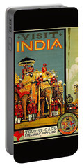 Visit India The Great Indian Peninsula Railway II 1920s A R Acott Portable Battery Charger