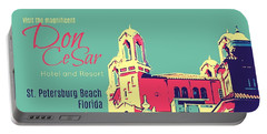 Visit The Don Cesar Portable Battery Charger