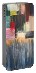 Portable Battery Charger featuring the painting Vital Spark by Alisha Anglin