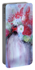 Portable Battery Charger featuring the painting Vitality Still Life by Jasna Dragun
