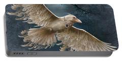 Viva The White Raven  Portable Battery Charger