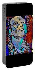 Vivian Campbell Nj 2016 #2 Portable Battery Charger by Luisa Gatti