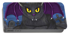 Vlad Vampire Cat Portable Battery Charger