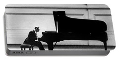 Portable Battery Charger featuring the photograph Vladimir Horowitz by Granger
