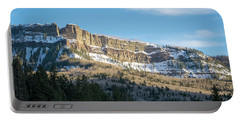 Volcanic Cliffs Of Wolf Creek Pass Portable Battery Charger