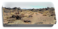 Volcanic Field Panorama Portable Battery Charger