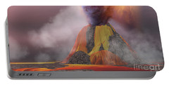 Volcanic Lands Portable Battery Charger