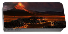 Volcanic Mountain Portable Battery Charger
