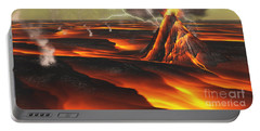 Volcanic Planet Portable Battery Charger