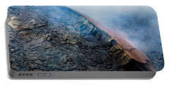 Portable Battery Charger featuring the photograph Volcanic Ridge by M G Whittingham
