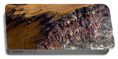 Portable Battery Charger featuring the photograph Volcanic Ridge II by M G Whittingham