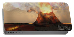 Volcano Fire Portable Battery Charger
