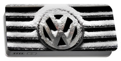 Volkswagen Symbol Under The Snow Portable Battery Charger