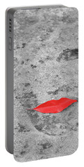 Portable Battery Charger featuring the photograph Voluminous Lips by Dale Kincaid