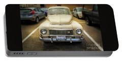 Volvo, The California Girlfriend Portable Battery Charger by Craig J Satterlee
