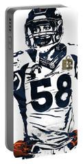 Von Miller Denver Broncos Pixel Art 2 Portable Battery Charger