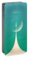 Vostok Rocket - Moon Aqua Portable Battery Charger