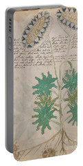 Voynich Flora 04 Portable Battery Charger