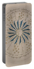 Voynich Manuscript Astro Rosette 1 Portable Battery Charger