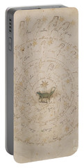 Voynich Manuscript Astro Scorpio Portable Battery Charger