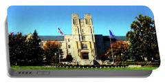 Vt Burruss Hall Portable Battery Charger