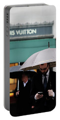 Portable Battery Charger featuring the photograph Vuitton by Empty Wall
