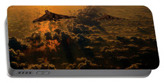 Vulcan Bomber Sunset Portable Battery Charger
