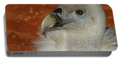 Vulture Portrait Portable Battery Charger