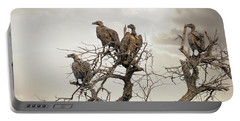 Vultures In A Dead Tree.  Portable Battery Charger