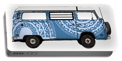 Vw Blue Van Portable Battery Charger