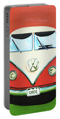 Vw-bus-obie Portable Battery Charger
