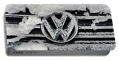 Vw Snow Day Portable Battery Charger