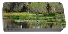Wading Bird Way Portable Battery Charger by Carol Bradley
