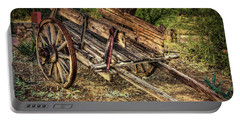 Wagon At Tanque Verde Ranch Portable Battery Charger