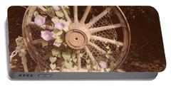 Wagon Wheel Memoir Portable Battery Charger