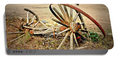 Wagon Wheels Portable Battery Charger