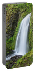 Portable Battery Charger featuring the photograph Wahkeena Falls by Greg Nyquist