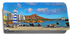 Waikiki Portable Battery Charger