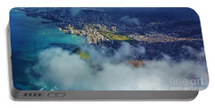 Portable Battery Charger featuring the photograph Waikiki In Morning Light by Craig Wood