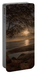 Waimea Bay Sunset 4 Portable Battery Charger