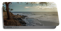 Waimea Bay Sunset Portable Battery Charger
