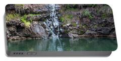 Waimea Waterfall Horizontal Portable Battery Charger