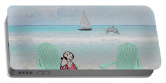 Waiting For Popeye Portable Battery Charger by Ericamaxine Price