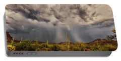 Portable Battery Charger featuring the photograph Waiting For Rain by Rick Furmanek