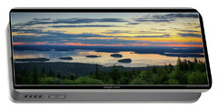 Waiting For Sunrise, Acadia National Park Portable Battery Charger