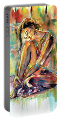 Waiting For You Portable Battery Charger by Kovacs Anna Brigitta